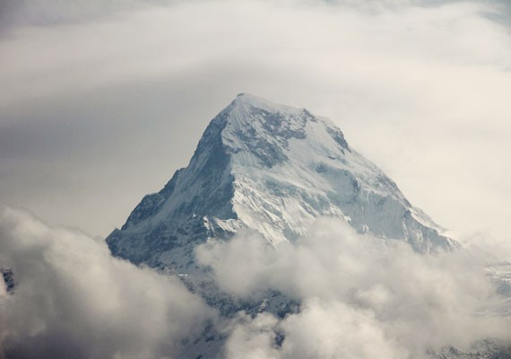 The most continuous mountain range in the world, the Himalayas stretch across a number of countries, including Nepal.
