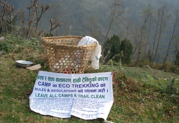 Snow Leopard's responsibility towards Eco-tourism to help preserve the Himalayas.