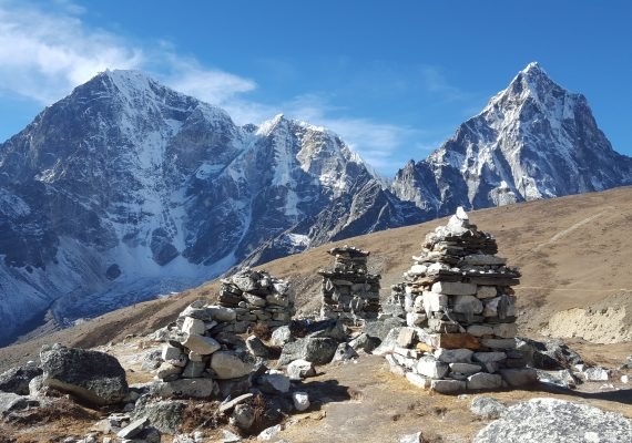 Everest base camp in December