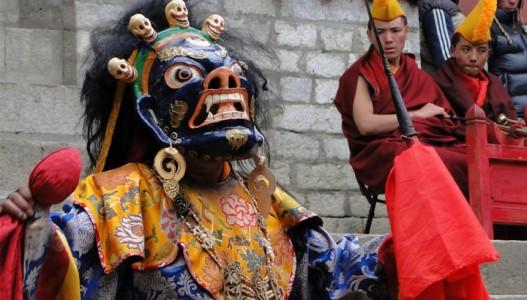 Mani Rimdu Festival Via Tengboche