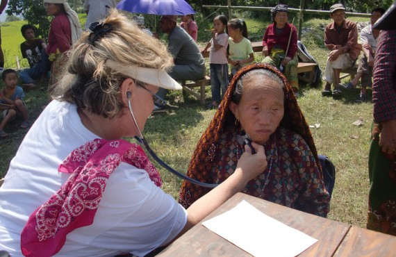 Remote Mountain Area Health Camps