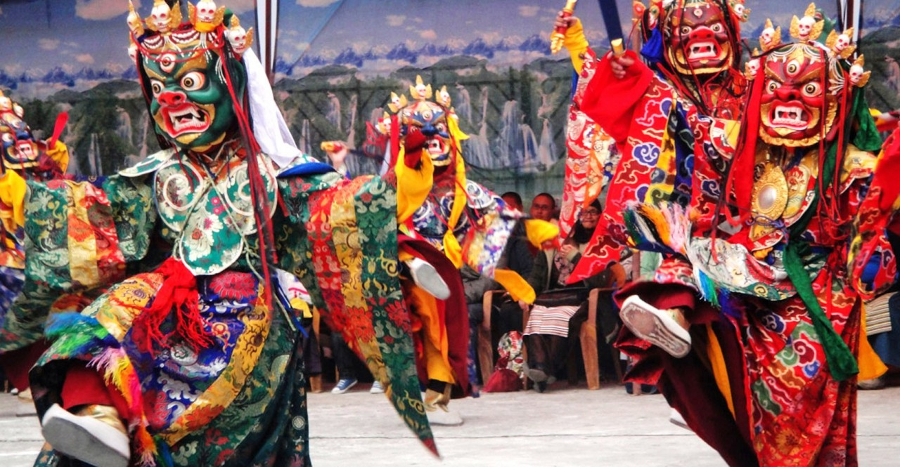 Mani Rimdu Festival Via Chiwong