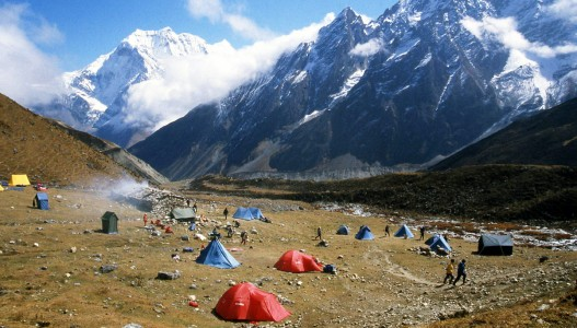 Round Manaslu Camp Trek